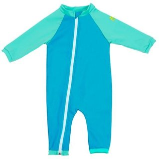 NoZone Pacific/Urchin Full Zip Baby Swimsuit
