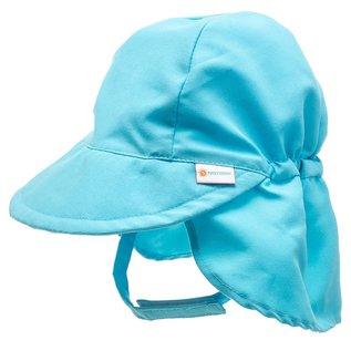 NoZone Light Blue Baby Flap Sun Hat