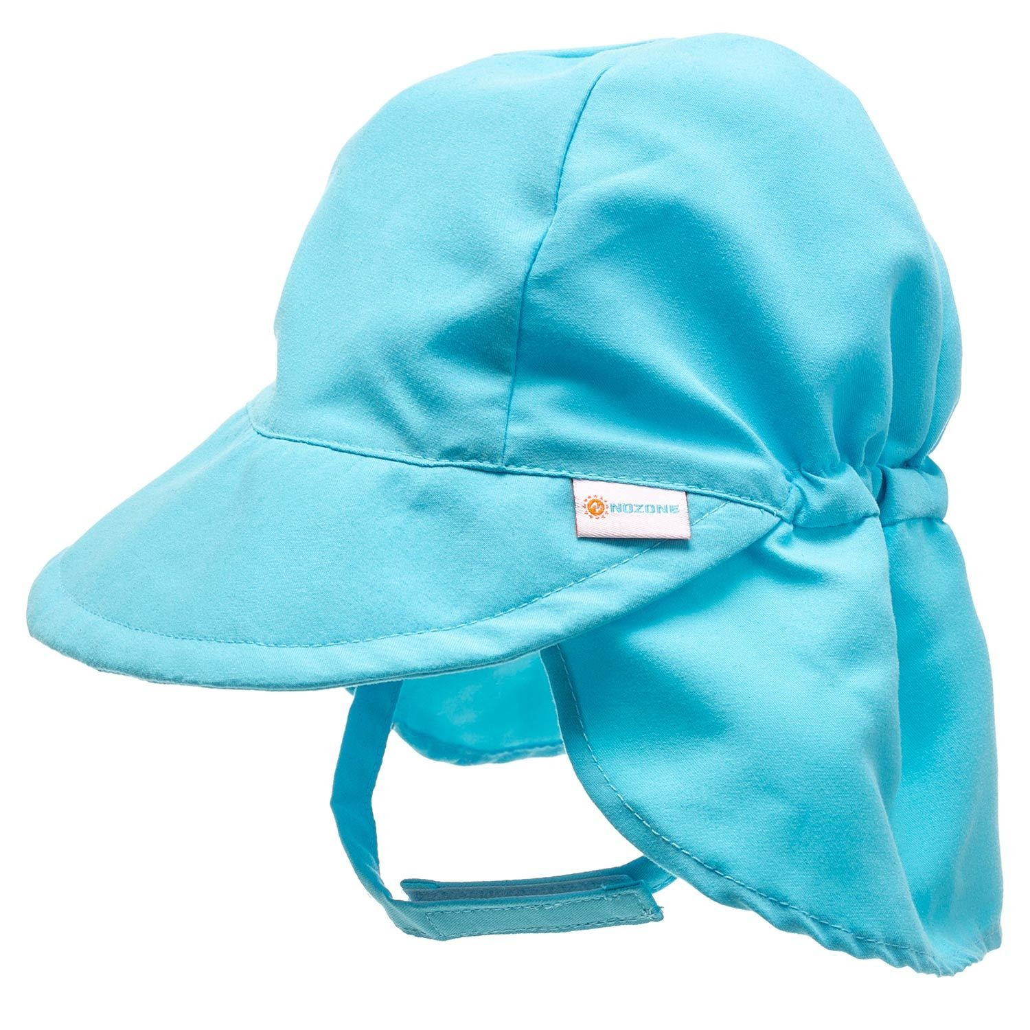 95500890 Light Blue Baby Flap Sunhat - Sweetpea Wholesome Baby