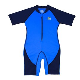 NoZone Royal/Navy Kids Ultimate One-Piece Sun Protective Swim Suit