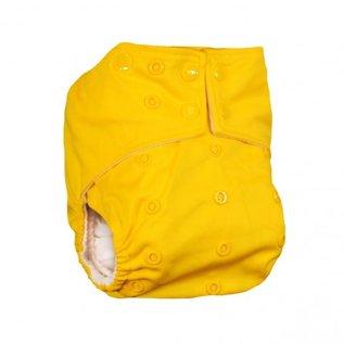 La Petite Ourse One-Size Snap Pocket Diaper, Egg Yolk