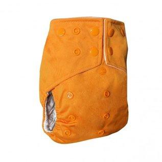 La Petite Ourse One-Size Snap Diaper, Zest