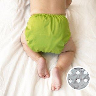 La Petite Ourse One-Size Snap Diaper, Apple