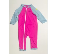 Bahama/Blue Full Zip Baby Swimsuit