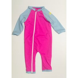 NoZone Bahama/Blue Full Zip Baby Swimsuit