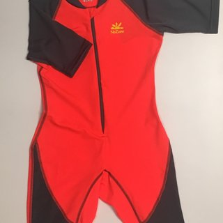 Flash/Charcoal Kids Ultimate One-Piece Sun Protective Swim Suit