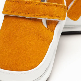 Jack & Lily Axel Slip On Mustard Suede My Mocs