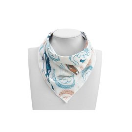 Nest Designs Crocodile Party Bamboo Bandana Bib