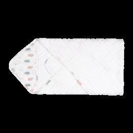 Nest Designs Piggy 9-Layer Organic Cotton Hooded Towel Wrap
