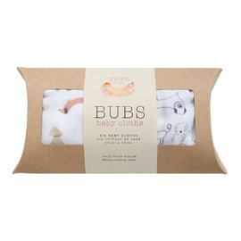 Nest Designs Puppy Bamboo Wash Cloth Set, 6 pack