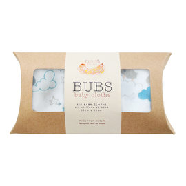 Nest Designs Sleep Sheep Bamboo Wash Cloth Set, 6 pack