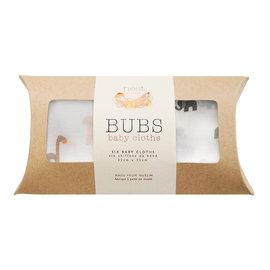 Nest Designs Rafe & Ele Bamboo Wash Cloth Set, 6 pack