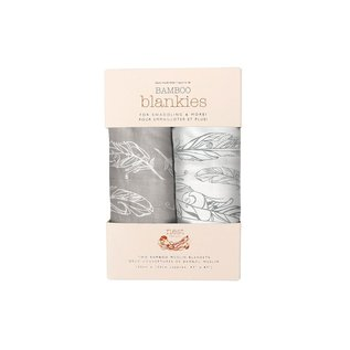 Nest Designs Feather Light Bamboo Swaddle 2 pack