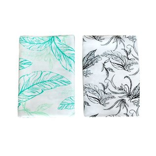 Nest Designs Leaves Bamboo Swaddle 2 pack