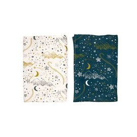 Nest Designs Stars Bamboo Swaddle 2 pack