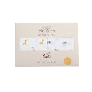 Nest Designs Raffe & Ele Bamboo Swaddle 2 pack