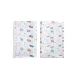Nest Designs Piggy Bamboo Swaddle 2 pack