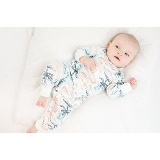 Nest Designs Beach Crocodile Bamboo 3/4 Sleeve Romper