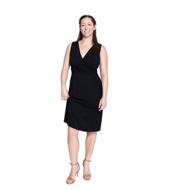 Momzelle OLIVIA, Nursing Dress, Black