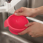 Red Silicone Bowl, Lid & Spoon Set