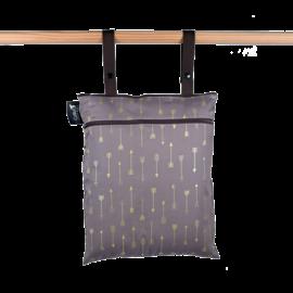Colibri Chocolate Arrows Double Duty Wet Bag