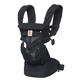ERGObaby Ergo Omni 360, Cool Air Mesh, Onyx Black