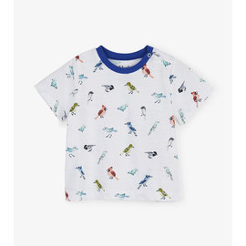 Hatley Watercolour Birds Baby T