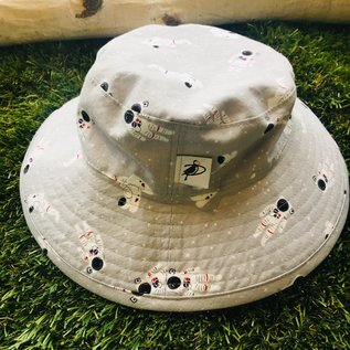 Puffin Gear Grey Astronaut Sunbaby Hat