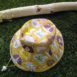 Puffin Gear Neapolitan Cats Sunbaby Hat