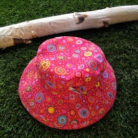Puffin Gear Pink Micella Sunbaby Hat