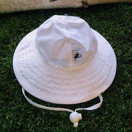 Puffin Gear White Nylon Sunbeam Hat