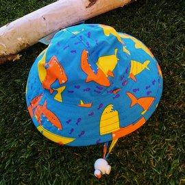Puffin Gear Kooky Sharks Sunbeam Hat