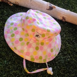 Puffin Gear Sorbet Dots Sunbaby Hat