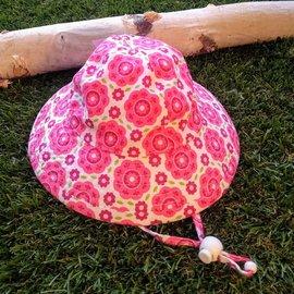 Puffin Gear Pink Blossoms Sunbeam Hat