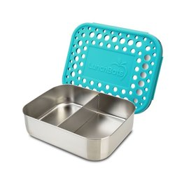 Lunchbots Aqua Duo Stainless Bento Lunch Box
