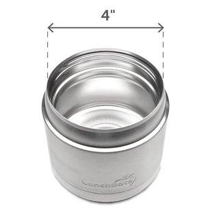 Lunchbots Aqua 16oz Stainless Thermal