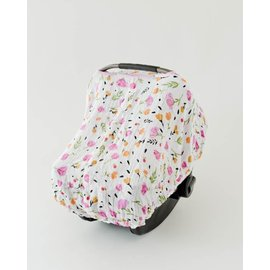 Little Unicorn Berry & Bloom Muslin Car Seat Canopy