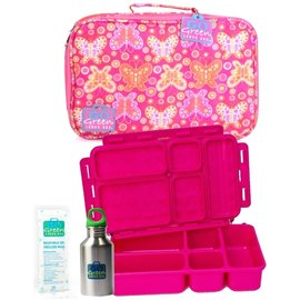 Go Green Butterfly Bash Leakproof Lunchbox Set