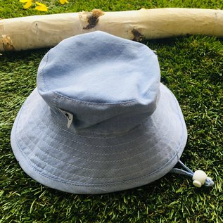 Puffin Gear Blue Oxford Sunbaby Hat