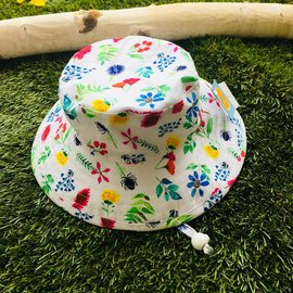 Puffin Gear Flower Study Sunbaby Hat