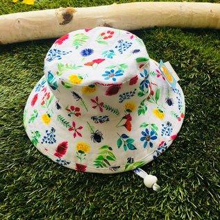 Puffin Gear Flower Study Sunbaby Hat