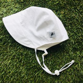 Puffin Gear White Oxford Bonnet