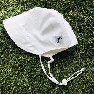Puffin Gear White Oxford Bonnet