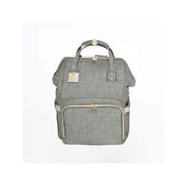 La Petite Ourse Backpack for Cloth Diapers - Grey