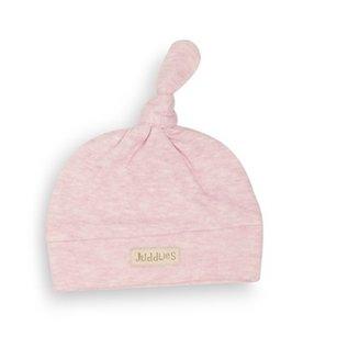 Juddlies Pink Fleck Knotted Beanie