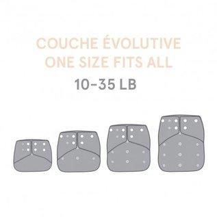 La Petite Ourse One-Size Snap Pocket Diaper, Bear