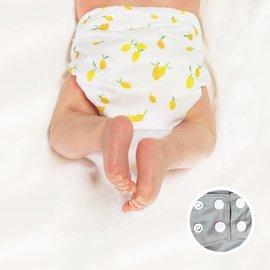 La Petite Ourse One-Size Snap Pocket Diaper, Lemon