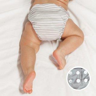 La Petite Ourse One-Size Snap Pocket Diaper, Lines