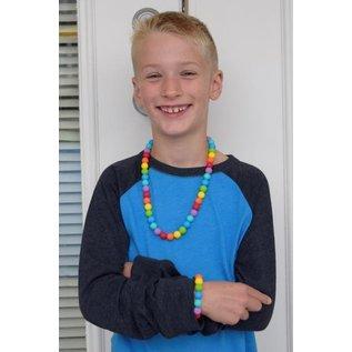 Munchables Rainbow Chewable Necklace