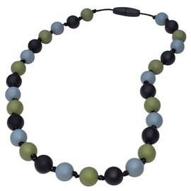 Munchables Green Camo Chewable Necklace